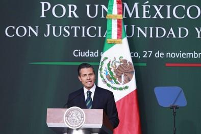 Peña Nieto anuncia una ley contra el crimen organizado en México