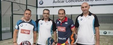 Reca y Nerone, dos 'maestros' como broche final al BMW Avilcar Pádel Grand Tour 2014