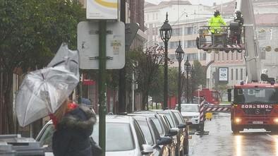 El Plan de Emergencias cierra con 39 actuaciones por viento y lluvia
