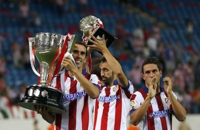 El balón parado se alía con un pobre Atlético de Madrid