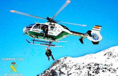 La Guardia Civil rescata a 21 personas en la montaña burgalesa en año y medio