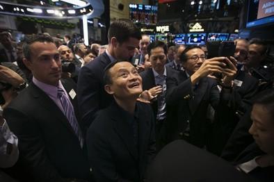 El gigante chino Alibaba logra la mayor salida a bolsa de la historia
