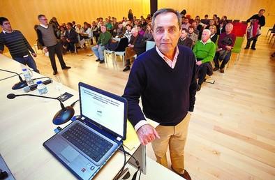 Germán Delibes de Castro es elegido académico de la Fernán González