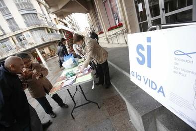San Vicente de Paúl recuerda que «el aborto no es  un derecho»