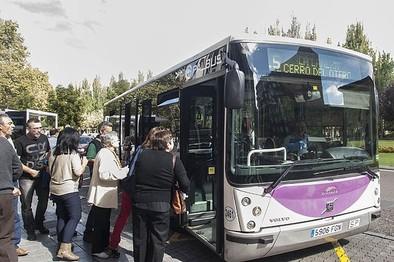'Palbús' refuerza la 'L-5' en el acceso de los empleados del 'Río Carrión'