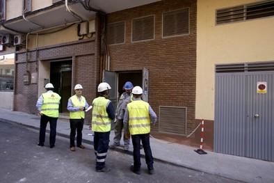 Un accidente en un centro de transformación provoca dos heridos en la capital