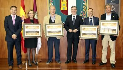 Marín recibe a los directores de los institutos históricos de Castilla-La Mancha