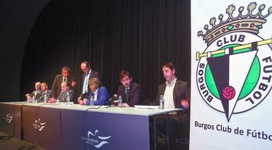 Los socios aprueban las cuentas del Burgos por un voto
