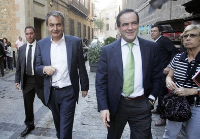 Zapatero y Bono, de ruta Greco por Toledo