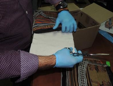 Dos detenidos al recoger en Correos una maleta con 450 gramos de coca