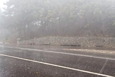 La alerta anunciada se centró en El Pico, con 62 litros
