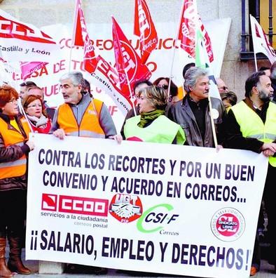 Los sindicatos advierten que Correos perderá 60 empleos en Ávila