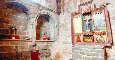 Las cubiertas de la iglesia de San Martín se sustituirán en marzo