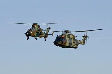 Airbus Helicopters entrega a Defensa los dos primeros Tigre fabricados en España y el primer NH90
