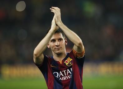 La gran noche de Messi