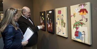 El Museo del Libro acoge 'Bibliomagia', una exposición de Autismo Burgos