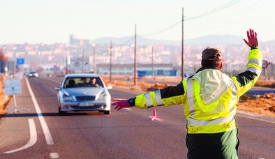 Sólo un conductor dio positivo en más de 700 controles de alcohol y droga