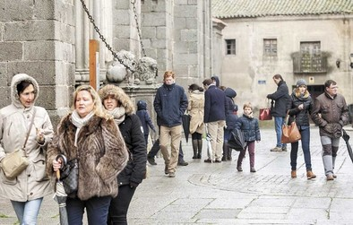 La Junta confirma un repunte del 4% en el sector turístico en Ávila en 2014