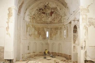 La restauración de las pinturas románicas de El Salvador se iniciará en septiembre