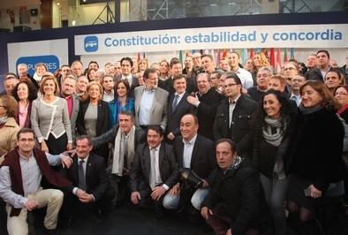 Rajoy defiende la Constitución y liga su reforma al proyecto europeo