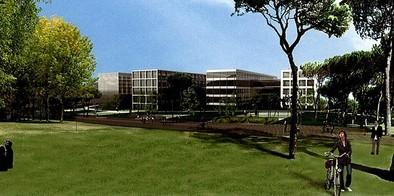 El Campus de la Justicia se queda sin fondos