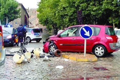 Julio registró 57 accidentes de tráfico en la capital, nueve de ellos con heridos