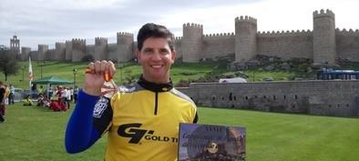 Gonzalo Sánchez Ferrero, subcampeón de España de tiro con arco en campo