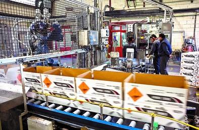 Maxam desmonta su planta de León y trae la fabricación del explosivo Anfo a Burgos