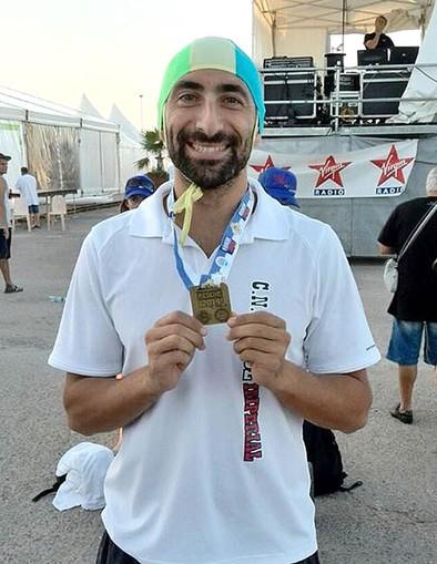 Herminio Cebrián, medalla de bronce en el Campeonato Rescue