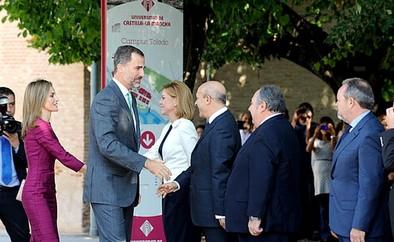 El Rey pide a las universidades que colaboren con «el tejido productivo»