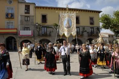 Fin de fiestas de la Virgen de la Vega