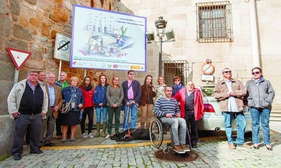 El quinto cartel de accesibilidad se presentó en La Santa