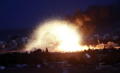 Ayuda inesperada para Kobane