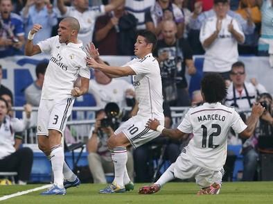 El Madrid zarandea al Barça