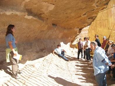 Las visitas guiadas al Abrigo Grande de Hellín seguirán hasta finales de año