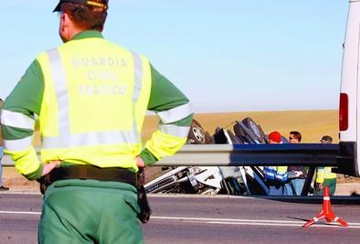 El conductor y los primeros testigos, este jueves en el juicio del accidente