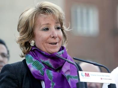 Esperanza Aguirre pone en duda el liderazgo de Rajoy