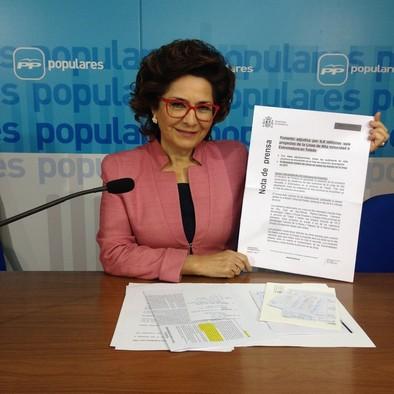Riolobos acusa al PSOE de mentir «sistemáticamente» sobre el AVE