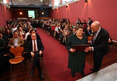 La Diputación de Valladolid homenajea a los trabajadores jubilados