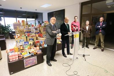 La Delegación del Gobierno reparte 10,7 toneladas de alimentos a ONGs