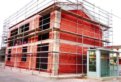 Frandovínez culminará en 2015 el nuevo edificio de usos sociales