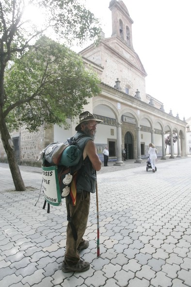 'El peregrino' inicia el día 20 una nueva travesía a Urda para agradecer la mejoría de Ángela Sánchez