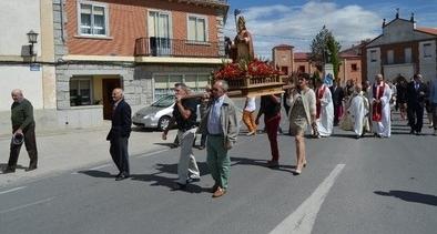 Los fontivereños rindieron tributo a su patrón,  San Cipriano