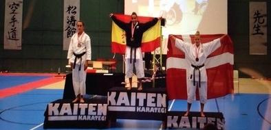 Vanessa Pascual, oro en kata en el Europeo de Shotokan