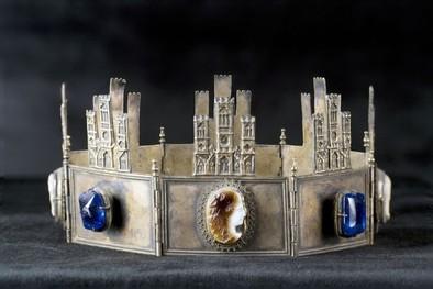 Una corona del s. XIII rumbo a Burgos