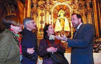 Santa Teresa cruza los Pirineos