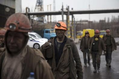 Tragedia minera en Donetsk