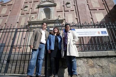 Ganemos duda de la calidad de gestión de la Biblioteca Niveiro 'Alfar el Carmen'