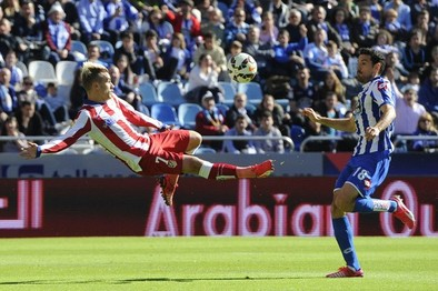 Griezmann salva al Atlético