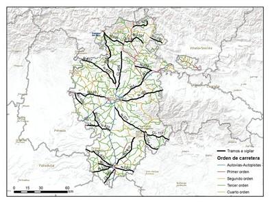 La DGT actualiza los tramos de carretera que vigila con el radar